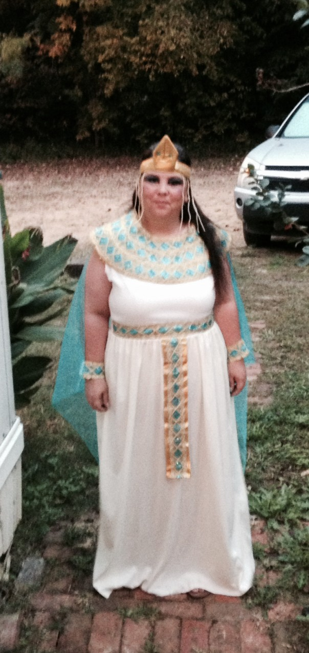 Happy Halloween from Cleopatra (Dawn McGee)