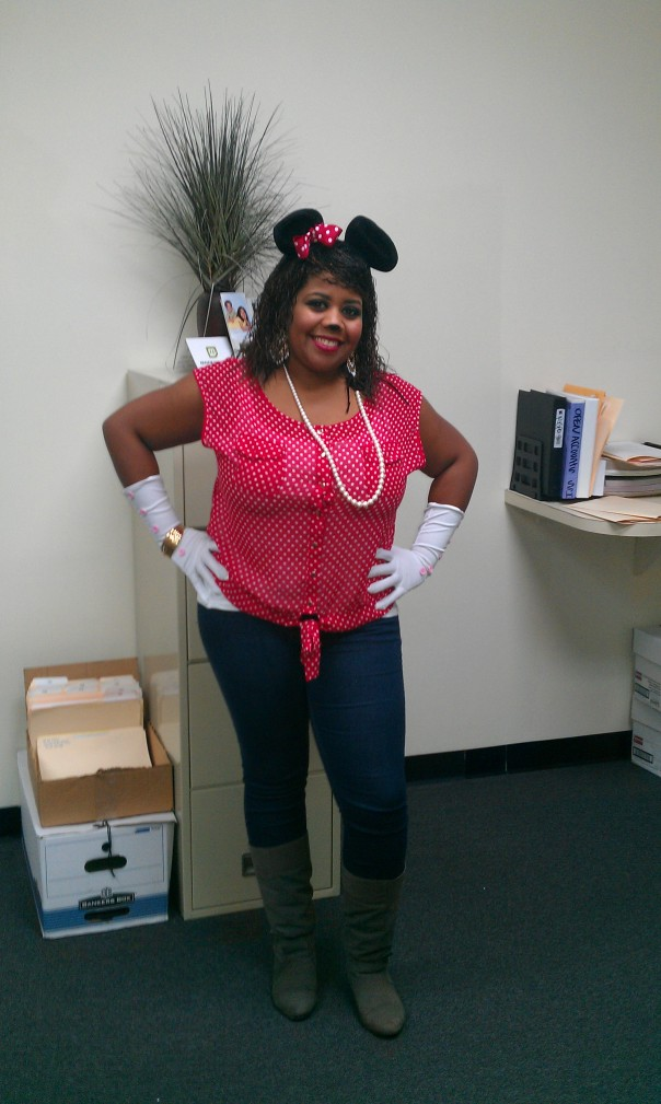 Hey there Minnie!! (Dorrice Griffin)