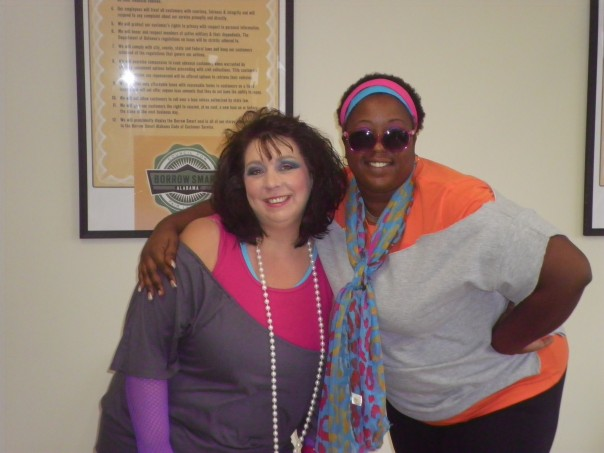 Here's another one of Lakisha and Kerri.