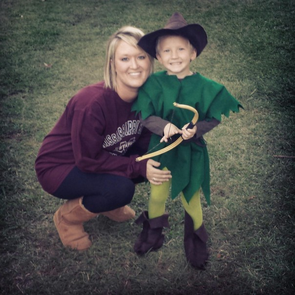 Alise (Fulton Money Matters) and her son, Dawson