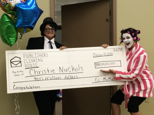 Congrats Christie and Susan! The Publisher Clearing House visited Fayette
